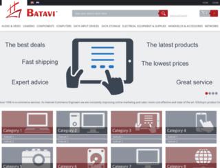 demo.batavi.org screenshot