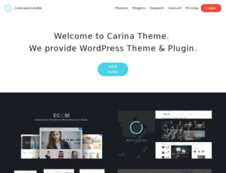 demo.carinatheme.com screenshot