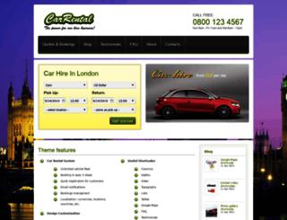 demo.carrentaltheme.com screenshot