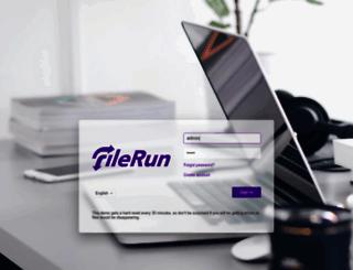 demo.filerun.com screenshot