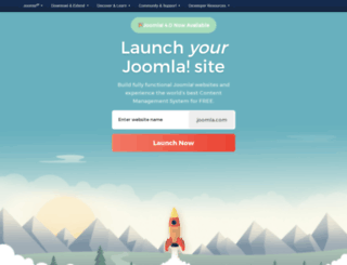 demo.joomla.org screenshot