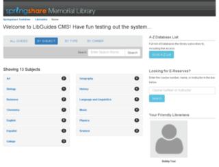 demo.libguides.com screenshot