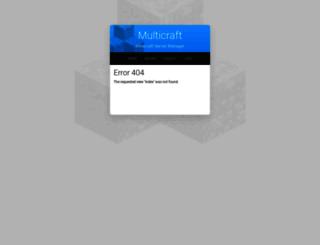 demo.multicraft.org screenshot