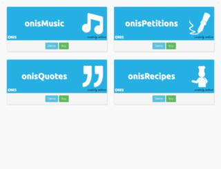 demo.onis.ro screenshot