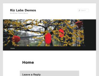 demo.rizlabs.com screenshot