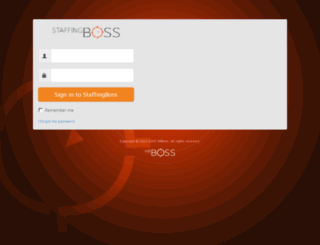 demo.staffingboss.com screenshot