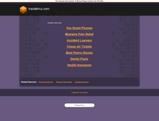 demo.traidatmui.com screenshot