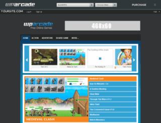demo.wparcade.com screenshot