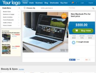 demo.wpgroupbuy.com screenshot