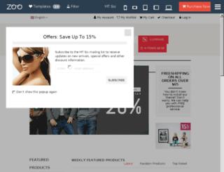 demo.zooextension.com screenshot