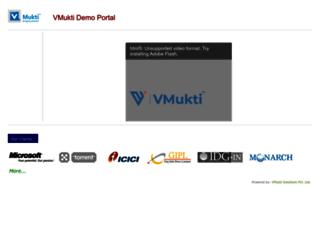 demo14.vmukti.com screenshot
