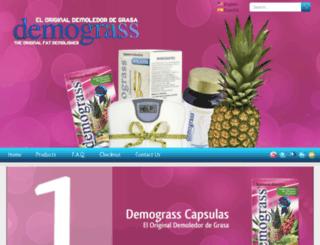 demograssdiet.com screenshot