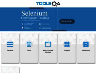 demoqa.com screenshot