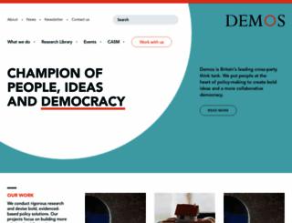 demos.co.uk screenshot