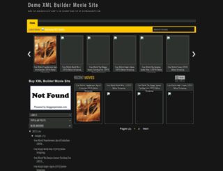 demoxmlbuildermoviesite.blogspot.com screenshot