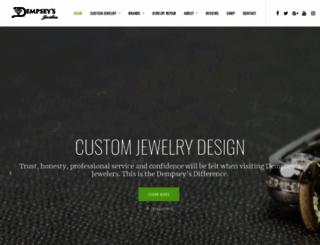 dempseysjewelers.com screenshot