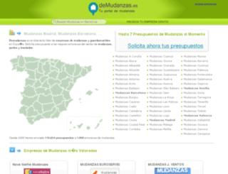 demudanzas.es screenshot