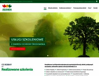 dendros.pl screenshot