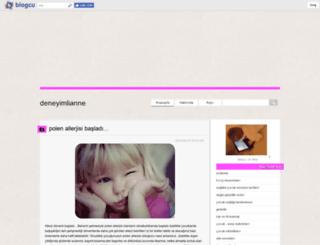 deneyimlianne.blogcu.com screenshot