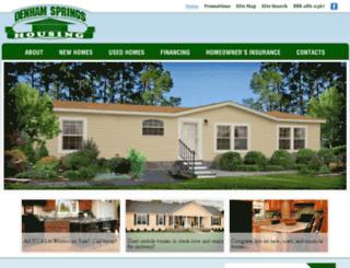 denhamhousing.calls.net screenshot