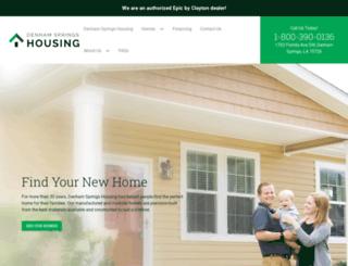 denhamhousing.com screenshot