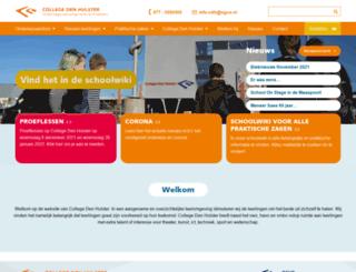denhulster.nl screenshot