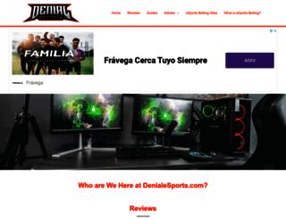 denialesports.com screenshot