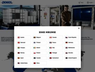 denios.com screenshot