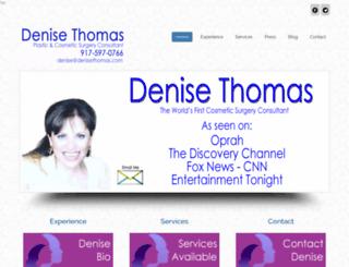denisethomas.com screenshot