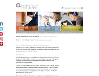 denmark.international-experience.net screenshot