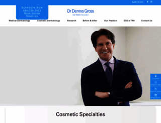 dennisgrossmd.com screenshot