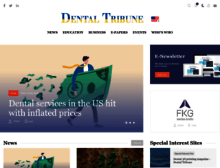 dental-tribune.com screenshot