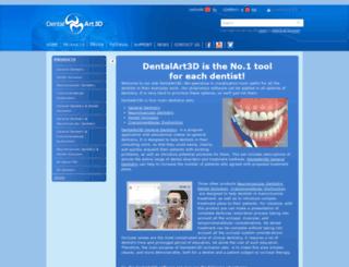 dentalart3d.com screenshot