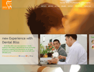 dentalblissbangkok.com screenshot