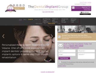 dentalimplantgroup.co.uk screenshot