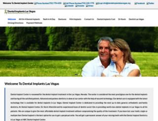 dentalimplantslasvegas.org screenshot