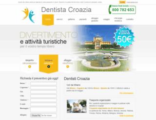 dentista-croazia.com screenshot