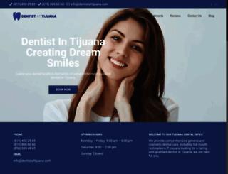 dentistattijuana.com screenshot
