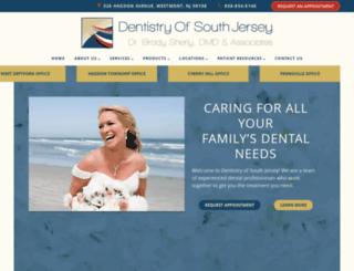 dentistryonhaddon.com screenshot