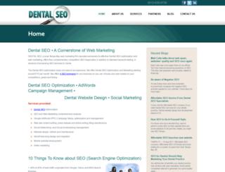 dentistseo.info screenshot