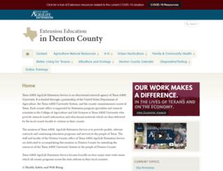 denton.agrilife.org screenshot