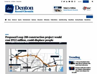 dentonrc.com screenshot