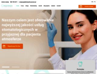dentopolis-poznan.pl screenshot