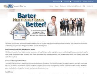 denver-barter.com screenshot