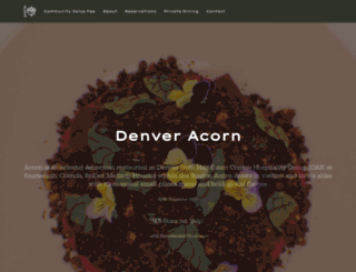 denveracorn.com screenshot
