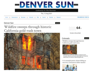 denversun.com screenshot