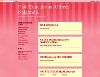 deonalgonda.blogspot.in screenshot
