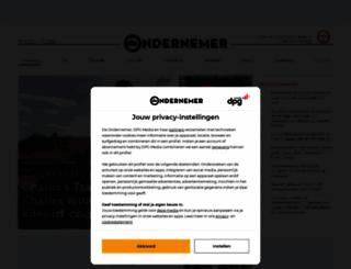 deondernemer.nl screenshot