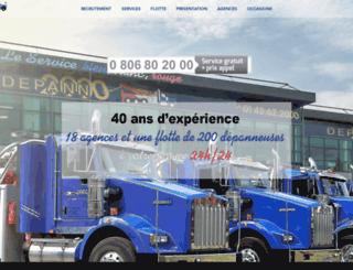 depann2000.com screenshot