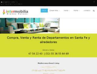 departamentosensantafe.mx screenshot